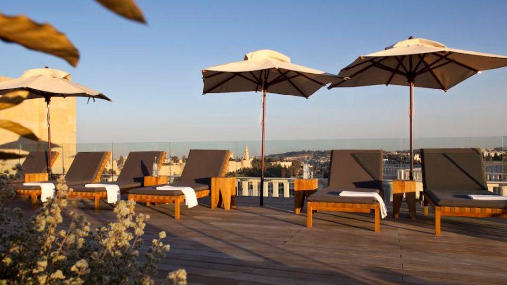 Mamilla Hotel Balcony