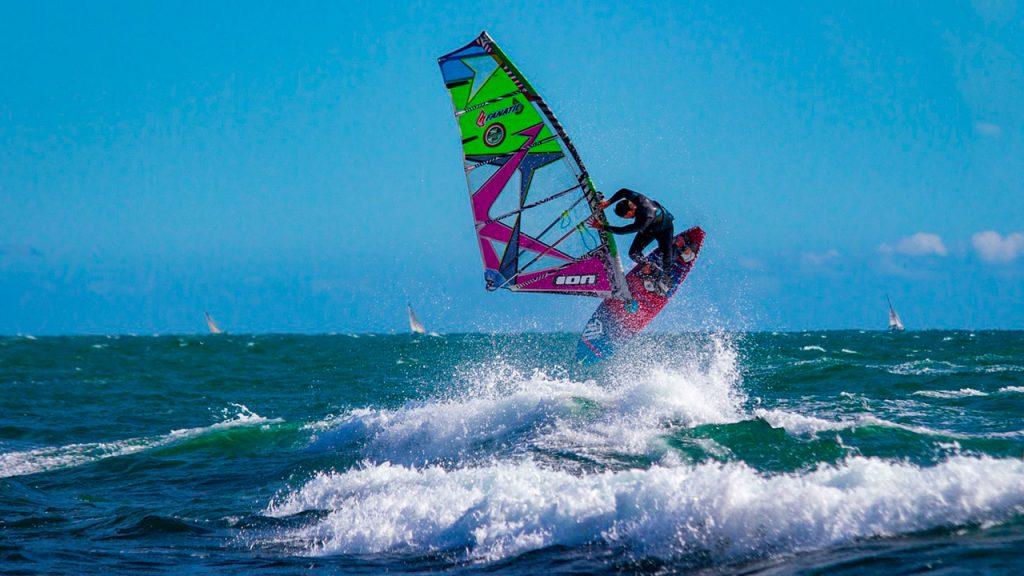 Wind Surfing in Eilat